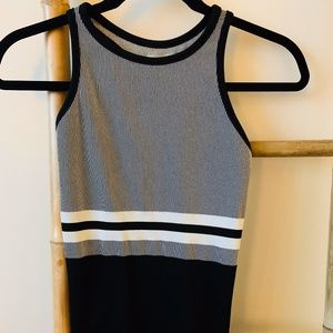 Athleta fitted racerback tank top